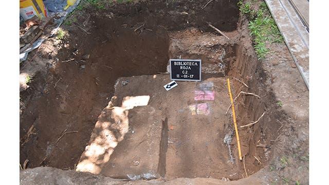 El lugar de la excavación