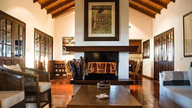 Así es Rincón del Socorro, la estancia de Kris Tompkins, viuda del empresario y filántropo Douglas Tompkins, donde se hospedó la familia real holandesa en los Esteros del Iberá. Foto: www.rincondelsocorro.com.ar