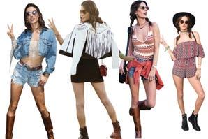 Mirá los mejores looks de Alessandra Ambrosio en los festivales
