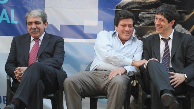 Aníbal Fernández solía participar en todos los actos de Cristina