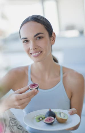 Receta: camembert tibio con higos