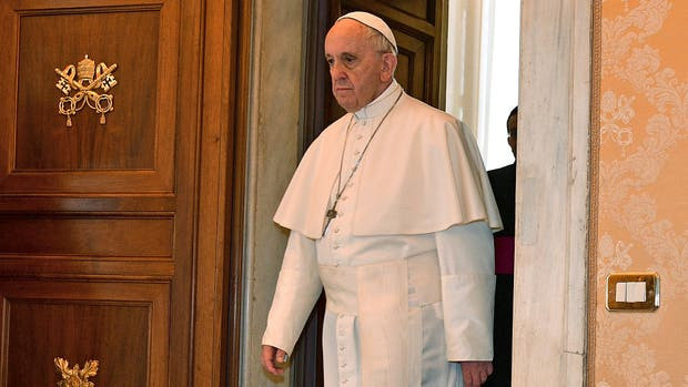El papa Francisco se manifestó