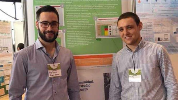 Juan Pablo Pelissero y Agustín Olivo, los creadores de la aplicación