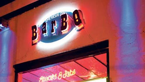 Dedicado por completo a la cocina norteamericana, ¿de verdad pensás pedir otra cosa que ribs en Bar BQ?