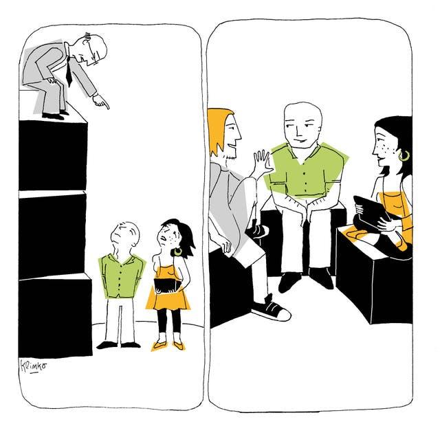 """Ilustración del libro """"Turbulencia generacional"""" de Paula Molinari. Ilustración de Klinko"""