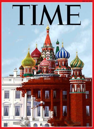 La última tapa de la revista TIME