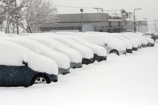 Europa vive una ola de frío con muchas tormentas y acumulación de nieve. Foto: AFP