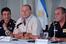 Sergio Berni dice que son pavadas las versiones de un desplazamiento de Scioli
