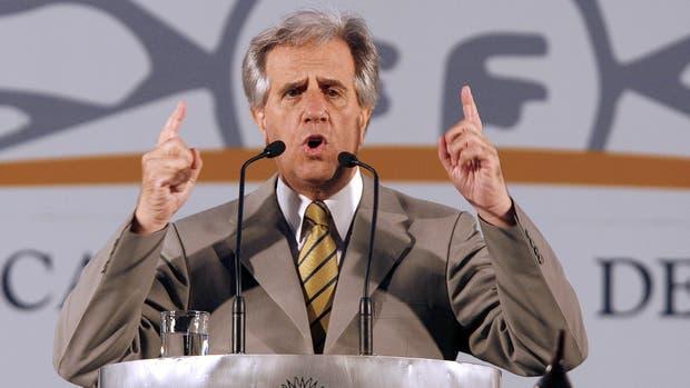 El presidente de Uruguay, Tabaré Vazquez