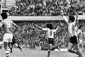 El festejo argentino