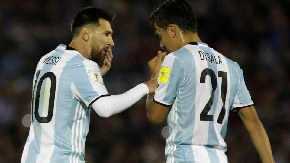 Messi-Dybala. Foto: AP