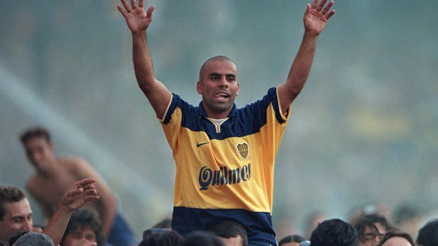 """El colombiano ex jugador de Boca Juniors, """"Chicho"""" Serna"""