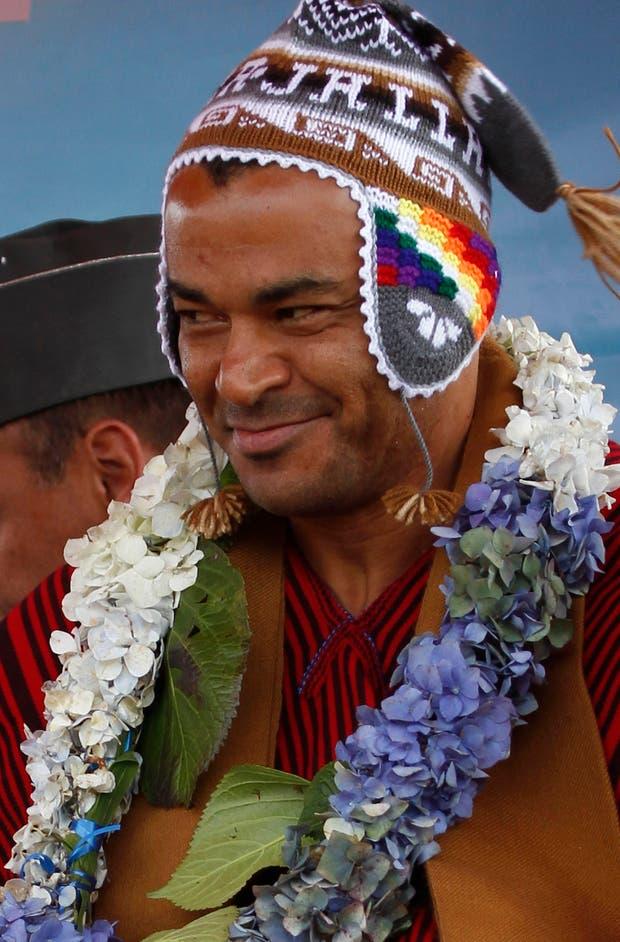 Cafú Morales (?).  Foto:AP