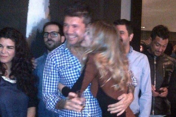 Guillermina y Marcelo, enamorados