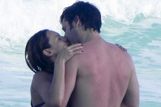 Hace tres semanas, la familia al completo viajó a México para disfrutar de unas vacaciones en la playa. Foto: Archivo ¡Hola! Argentina