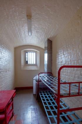 La celda en la que escribió De profundis