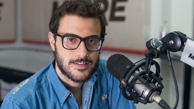 Diego Leuco, uno de los protagonistas del polémico episodio ocurrido en los Martín Fierro de radio 2017