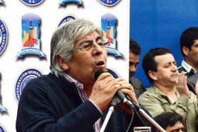 Hugo Moyano, titular de la CGT opositora