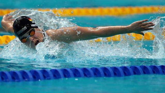 FINA World Championships en Budapest. Foto: AFP