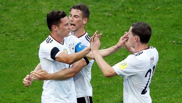 Alemania venció a Australia en su estreno en el certamen