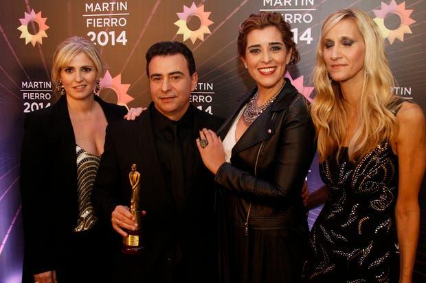 Sietecase y su equipo de Getap, feliz con su Martín Fierro