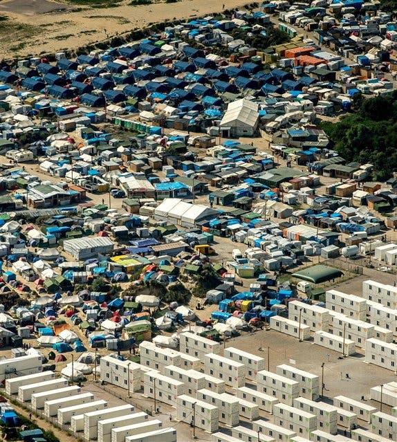 Un nuevo muro de la vergüenza — Calais