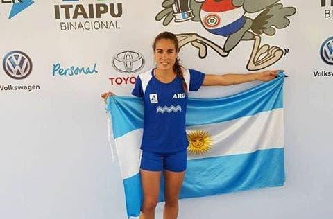 Belén Casetta fue una de las figuras del equipo argentino