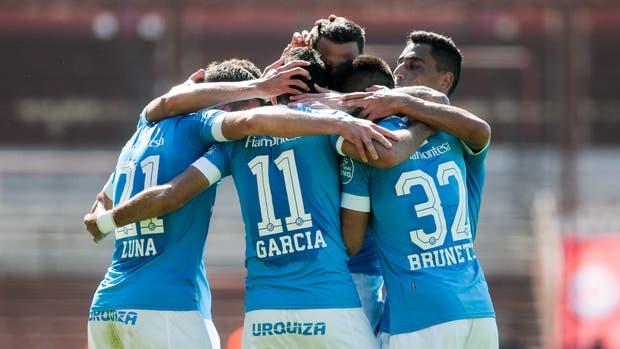 El festejo de Belgrano