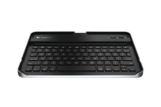 El teclado inalámbrico Logitech Keyboard Case sirve como protector para un iPad 2. Foto: Gentileza Logitech