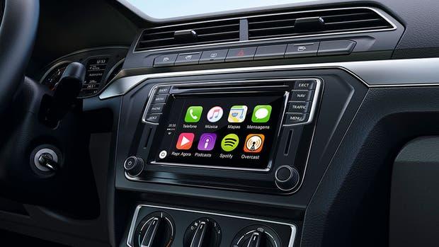 Un tablero con Android Auto