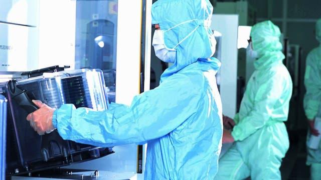 Apple usa las fábricas de TSMC para sus chips, aunque también es cliente de Samsung