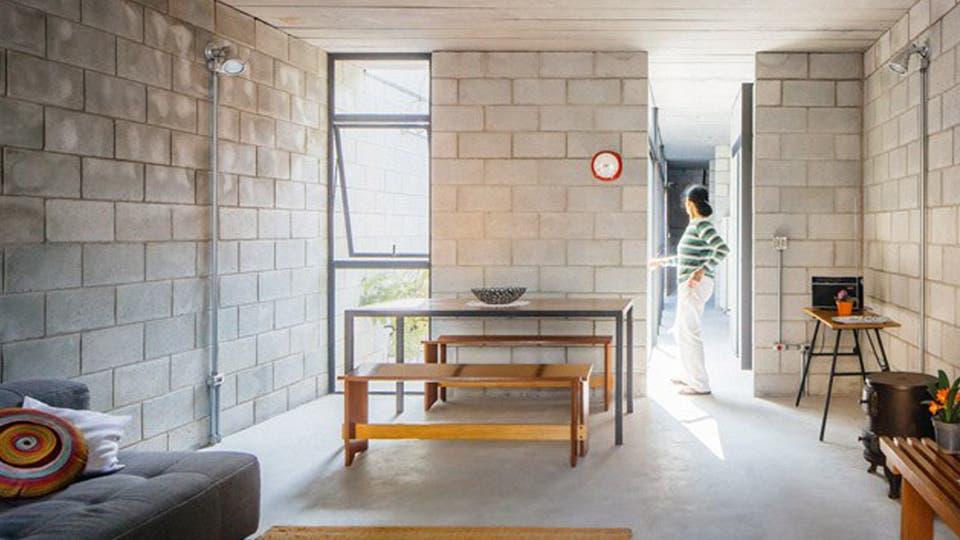 Una casa de una empleada doméstica ganó un premio internacional de arquitectura