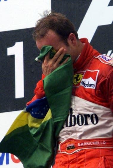 Después de protagonizar la segunda remontada más espectacular de la historia de la F.1, Rubens Barichello ganó el Gran Premio de Alemania en 2000
