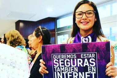 """La joven dice que no es solo una reforma, sino una causa: """"Queremos que se sensibilice, se prevenga y se erradique esta violencia"""", asegura."""