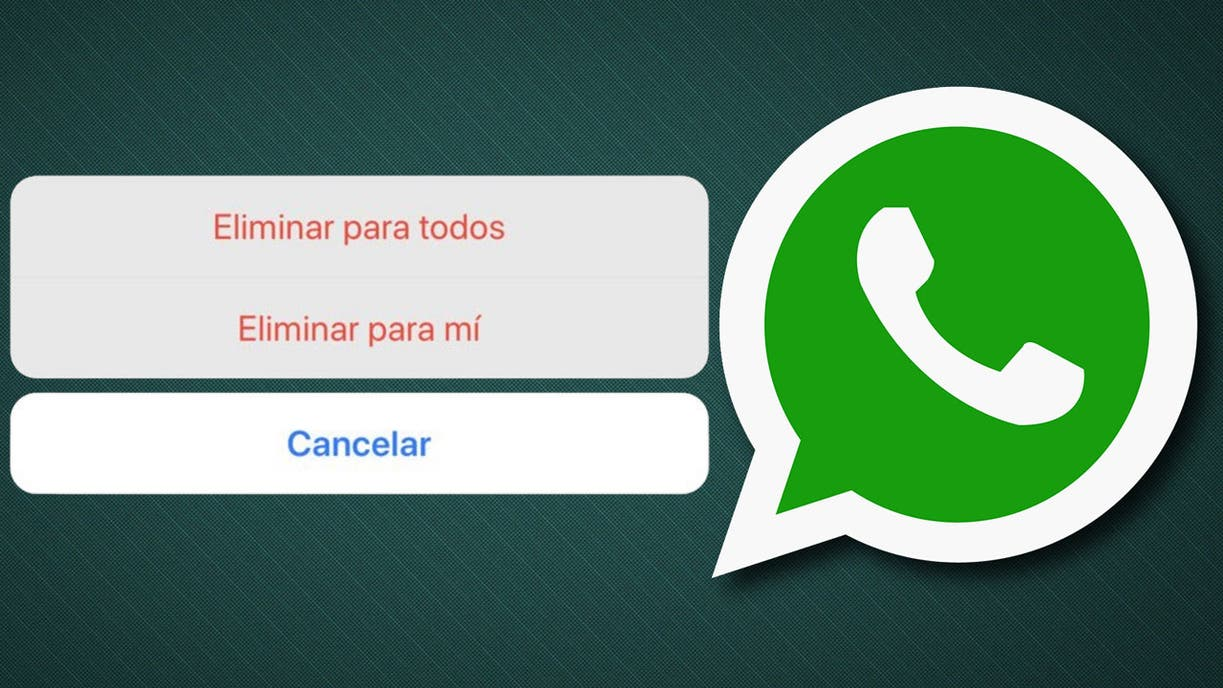 ¿Te arrepentiste de enviar un mensaje por Whatsapp?