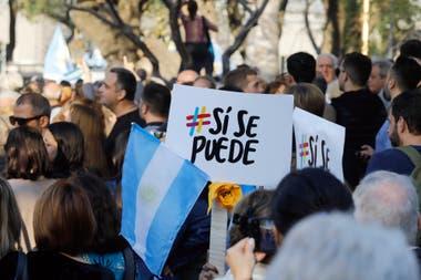 La marcha del Sí se puede se replicará en 30 ciudades de distintos puntos del país hasta el 27 de octubre