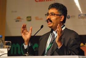 El especialista hindú Suresh Itapu, en Mercosoja 2011, dijo que en su país crece la demanda de soja