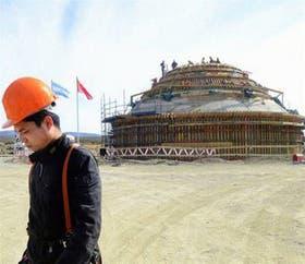 En Neuquén avanzan las obras de la estación espacial china