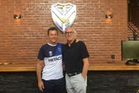 Por pedido de Christian Bassedas, Carlos Bianchi visitó al plantel de Vélez