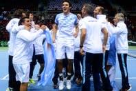 Argentina venció a Polonia y avanza a los cuartos de final de la Copa Davis