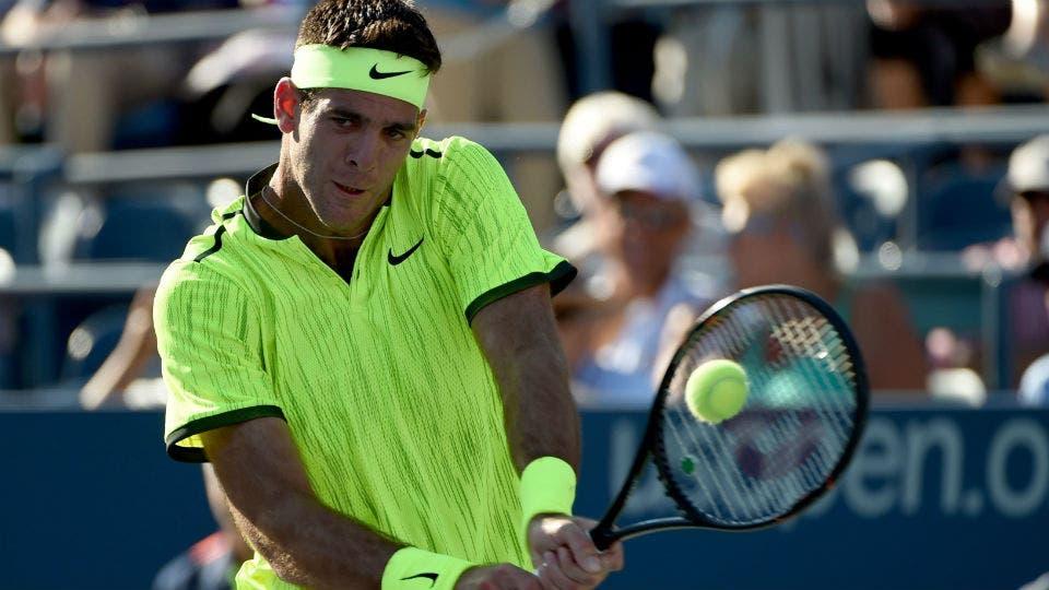 US Open: Del Potro debuto con un triunfo