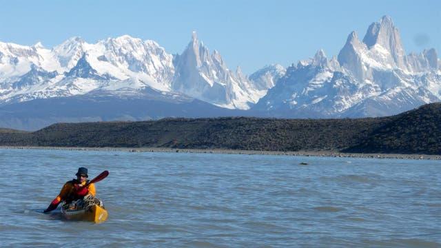 Travesía en kayak por los hielos patagónicos