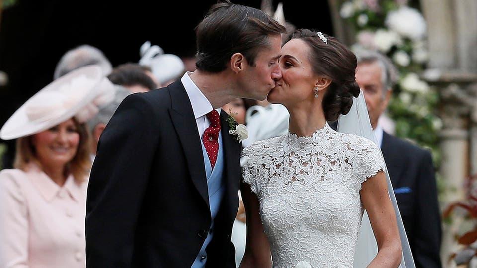 Pippa y James se comprometieron en julio del año último. Foto: Reuters / Kirsty Wigglesworth