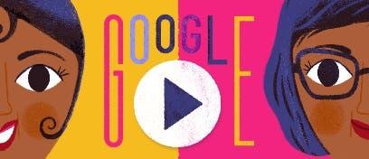 Google hoy homenajeó a Baker con un Doodle por el 111º aniversario de su nacimiento