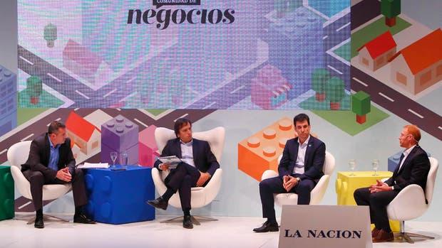 Daniel Alonso, José Del Rio (LA NACION), Iván Kerr y Sebastián Sommer