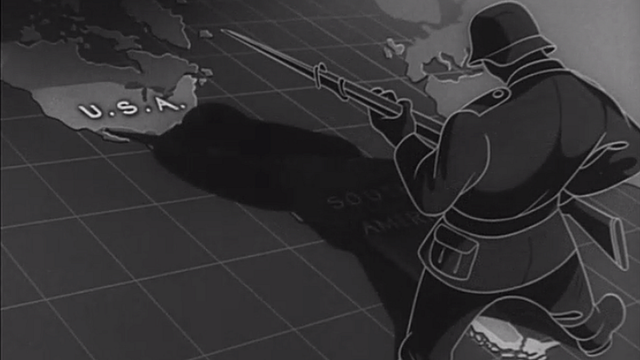 """En el filme """"The battle of the United States"""" el FBI es retratado como el héroe que terminó con la amenaza nazi proveniente de América del Sur. (Foto: Museo Estadounidense Conmemorativo del Holocausto)"""