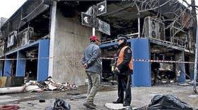 Antes de ser detenido, el pirómano incendió un comercio y depósito de alfombras de Almagro