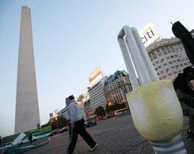 El Obelisco, centro de una campaña para el cuidado del medio ambiente