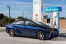 Una estación de recarga de hidrógeno para el auto