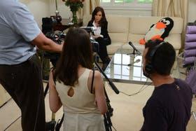 Poco antes del anuncio, Cristina se mostró en un video que grabó su hija Florencia